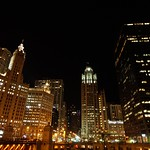 Wrigley building & Chicago Tribune