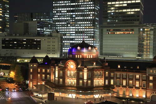 New Old Tokyo Station Night View (test ISO12800)