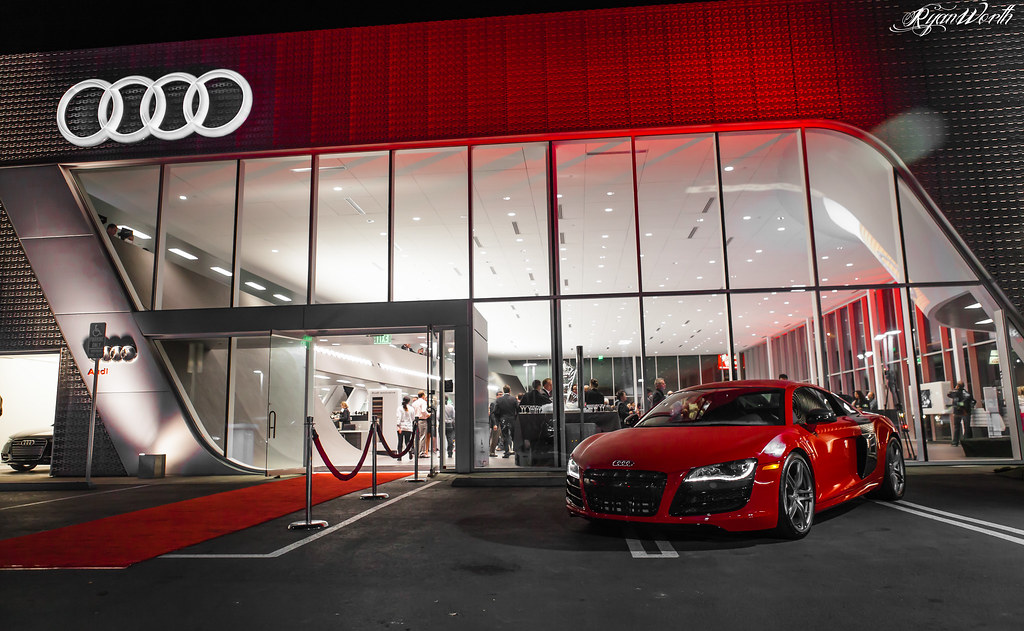 The Grand Opening of the all-new Audi Pacific Dealership
