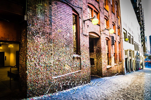 Gum Wall - Post Alley