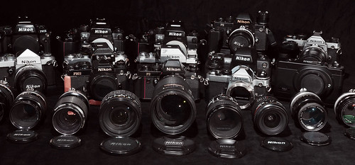 nikon..part of collection by phollectormo