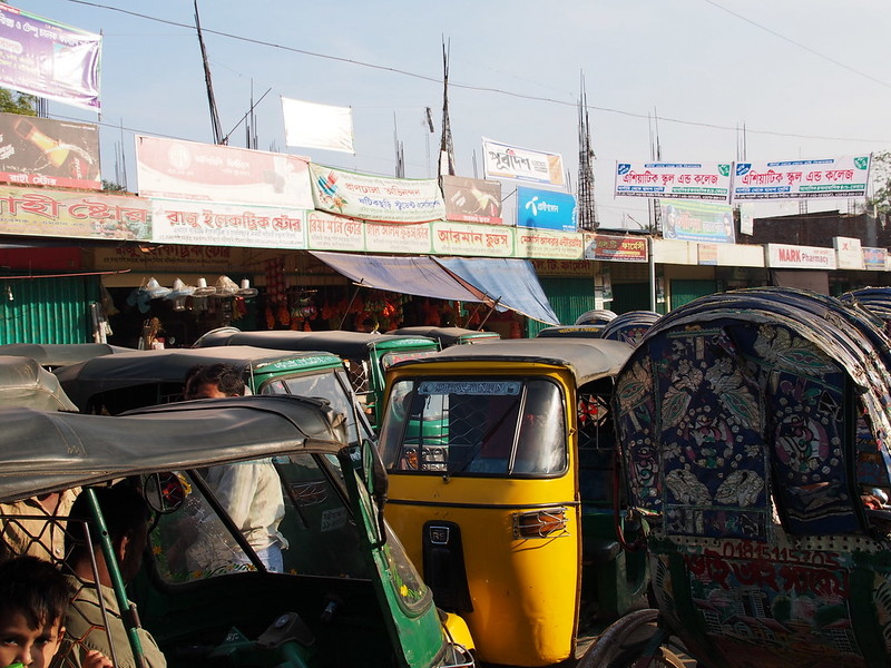 Congested Market in Chittagong