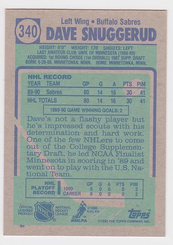 Dave Snuggerud Back