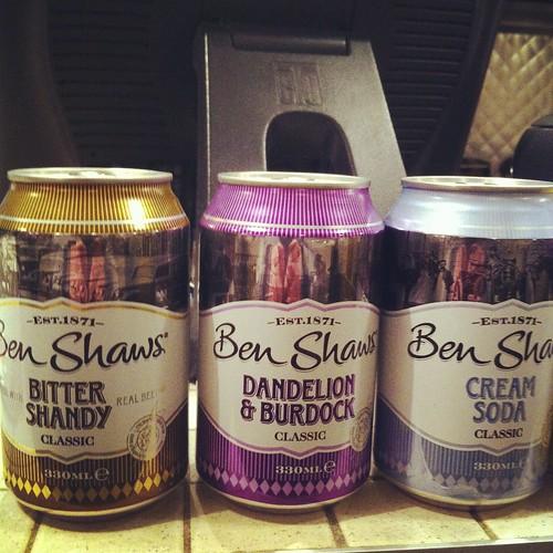 Ben Shaw's sodas