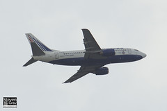 EI-DTW - 25188 - Transaero Airlines - Boeing 737-5YO - Heathrow - 120721 - Steven Gray - IMG_5580