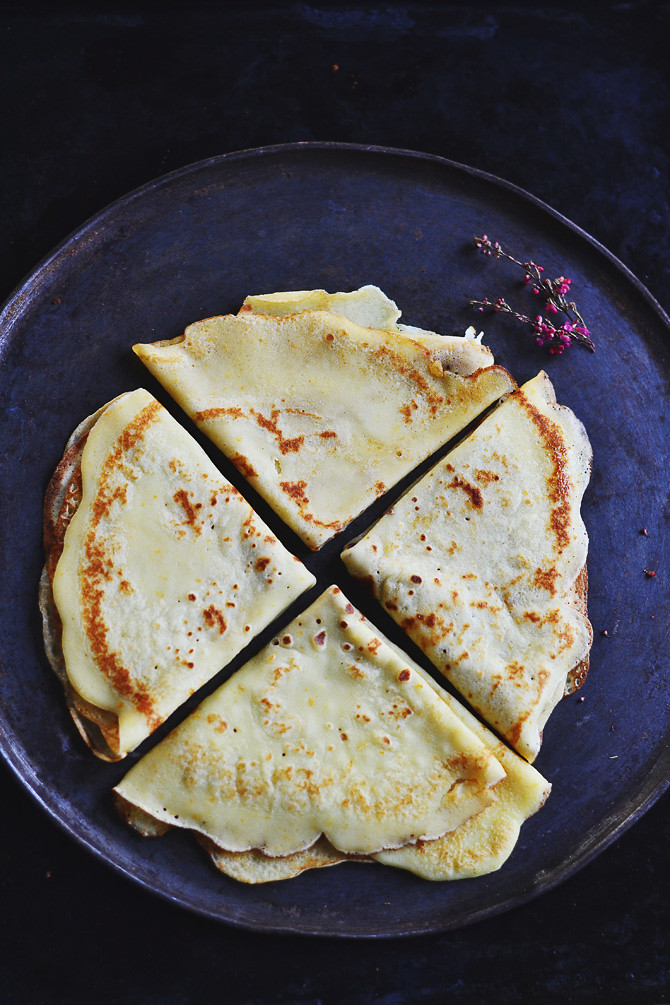Crepes with Rum