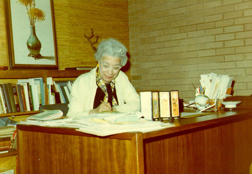 Mollie Huston Lee, Richard B. Harrison Library, 1969