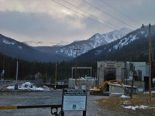Moffat Tunnel and James Peak Wilderness (Looming in Distance)