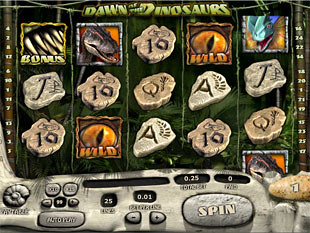 Dawn of the Dinosaurs slot game online review