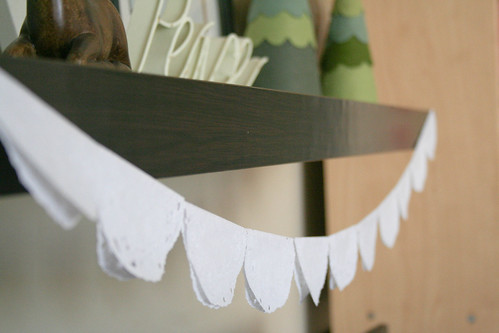 Easy peasy doily garland | yourwishcake.com
