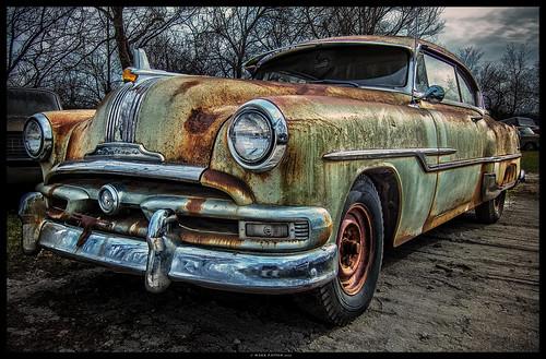 art car nikon rust automobile antique iowa pontiac newton ©markpatton p7700
