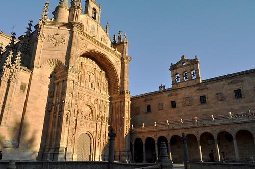 Salamanca. Iglesia y convento de San Esteban