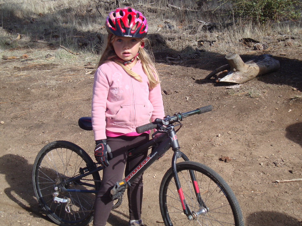 Six Year Old Mountain Biker