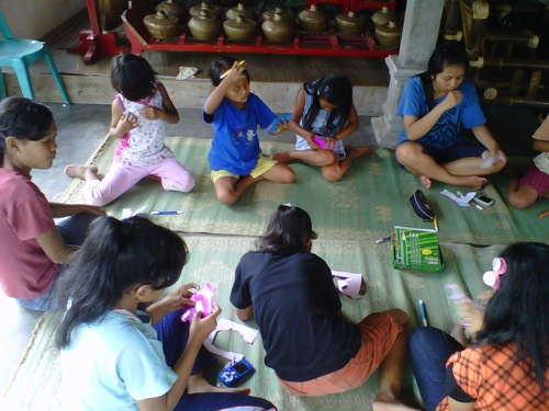 Workshop Bookcraf di Bangun Budaya (63)