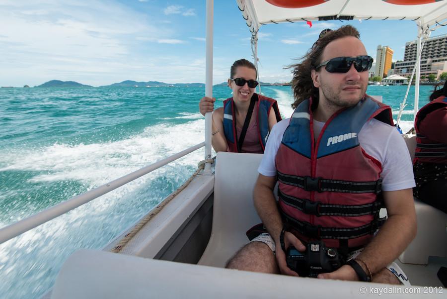 кинабалу острова лодка