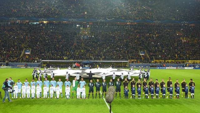 Manchester City Borussia Dortmund