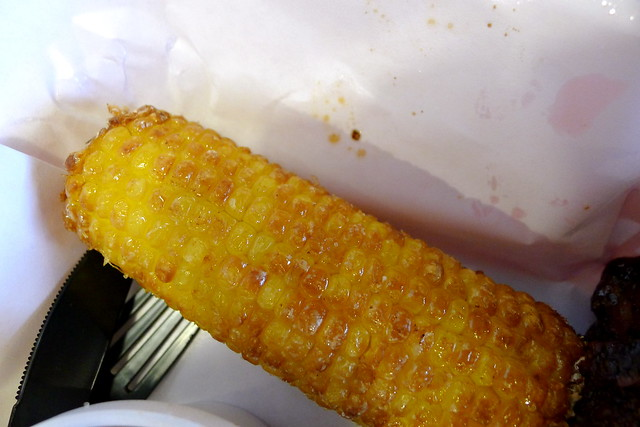 fried corn on the cob