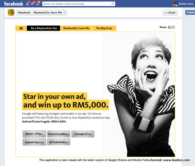 Be A Maybank2u Star Contest