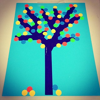 Sticker Tree Craft