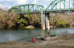 Highway 90 Bridge over Colorado River, Columbus, Texas 1212011212