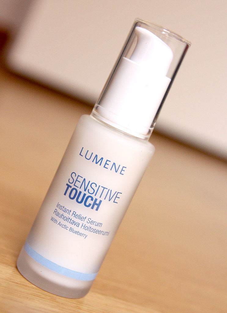Lumene sensitive touch instant relief serum