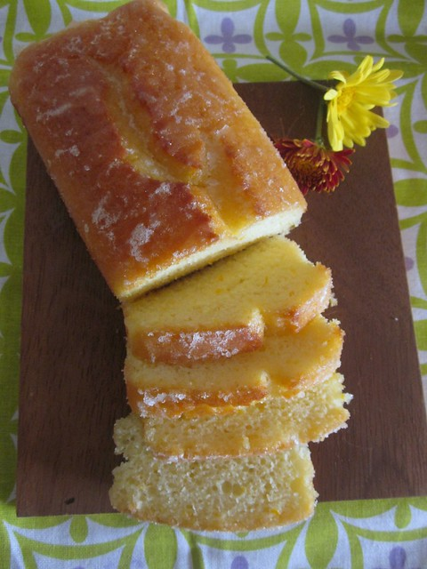 Orange Yogurt Loaf Cake
