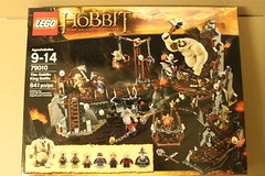 LEGO The Hobbit The Goblin King Battle (79010)