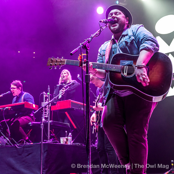 Of Monsters And Men @ Oracle Arena, Oakland 12/7/12