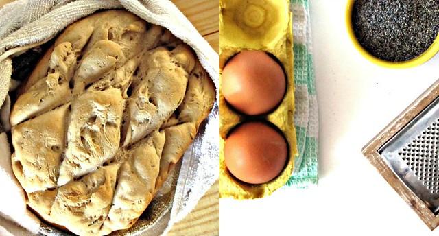 Canederli di Castagne con Cuore di Porcini e fonduta di Caciotta ai Semi di Papavero