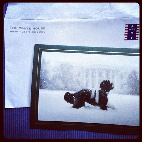Heck, yeah. I got an Xmas card from the First Family.