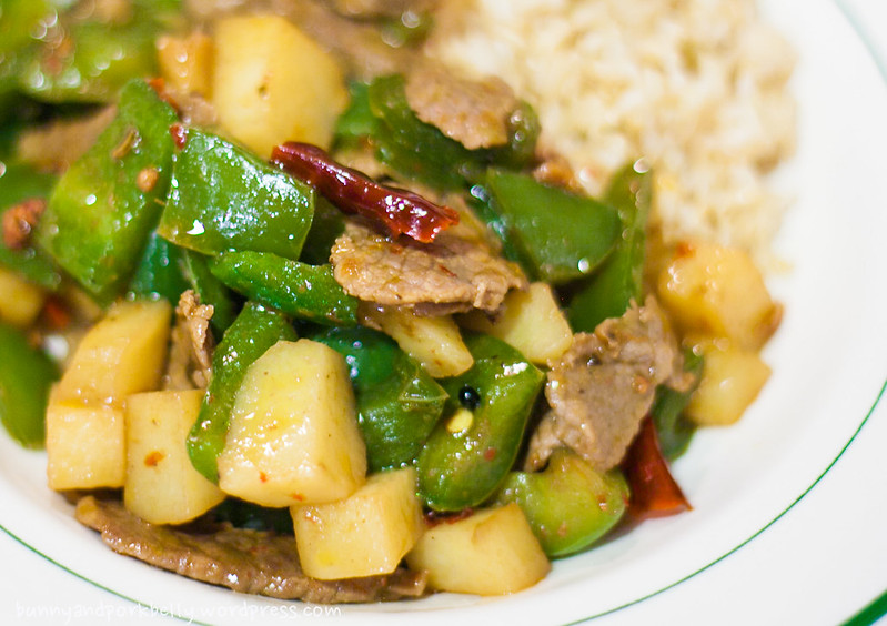 Recipe: Spicy Beef with Green Peppers | BunnyandPorkBelly