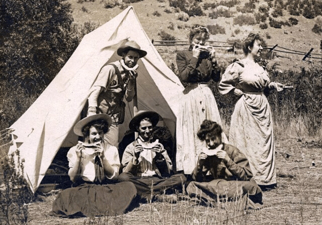 Vintage_Photo_Labor_Day_Weekend_Camping_Watermelon_Party-1