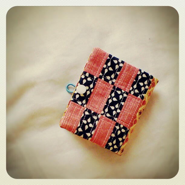 Pretty little needle book.