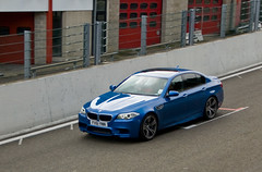 Circuit de Spa Francorchamps - BMW M5