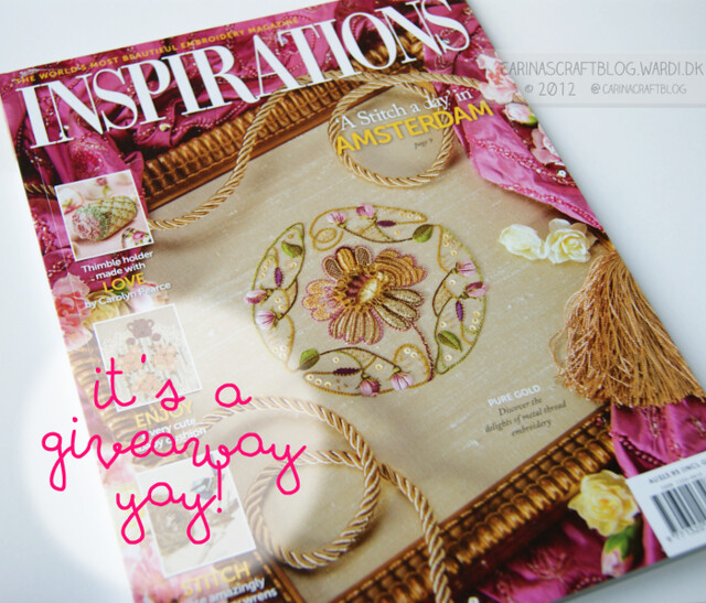 Inspirations Magazine giveaway