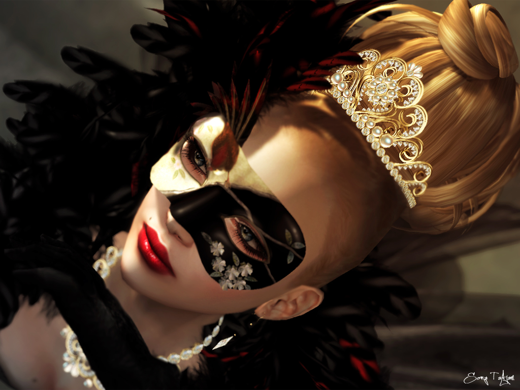 C-you-Masquerade Mask