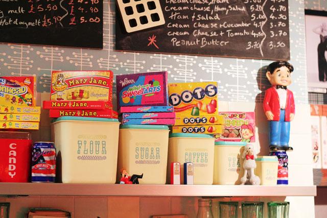 Issy's Milky Way Camden Passage Islington 50s Milkshake parlour
