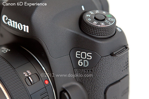 Canon EOS 6D full frame dslr review