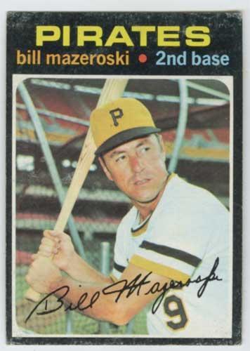 1971 Topps Bill Mazeroski