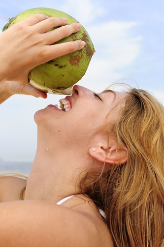 Fruit Fact - Coconut water