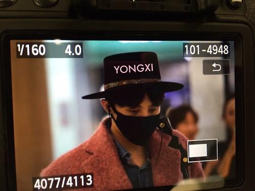 Big Bang - Incheon Airport - 21mar2015 - G-Dragon - petz8907 - 02