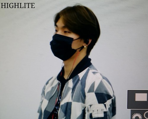 Big Bang - Gimpo Airport - 07jun2015 - Dae Sung - High Lite - 04