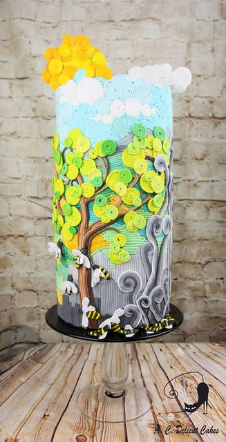 Acts of Green-UNSA 2016 collaboration – Save the Bees – Save the World by Delicut Cakes
