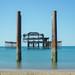 Old West Pier by www.nathaliecapitan.com
