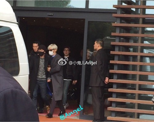 Big Bang - Shanghai Airport - 30jan2015 - 小鬼儿Angel - 02