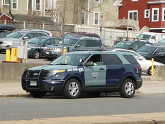 Massachusetts State Police Ford Police Interceptor Utility