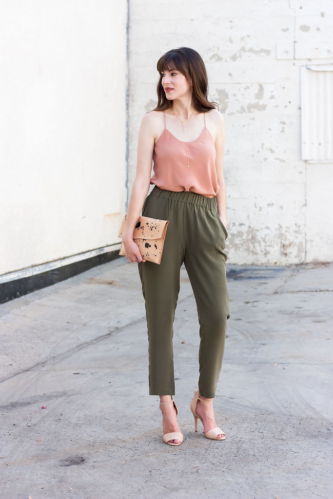 Silk Cami and Silk Pants