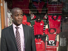 Kenya's first openly homosexual candidate David Kuria Mbote is running for public office. Credit: Mike Elkin/IPS