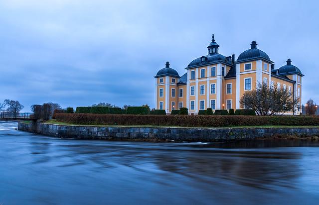 Strömsholms Palace in the Autumn, Västerås Sweden