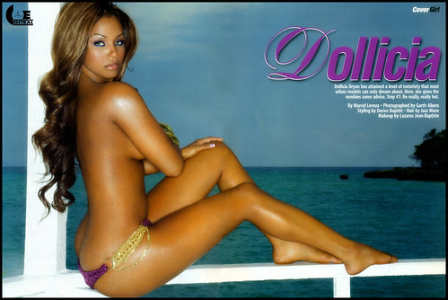 Dollicia Bryan  Smooth Magazine 2011 holiday issue . New sexy pictures of Dollicia Bryan